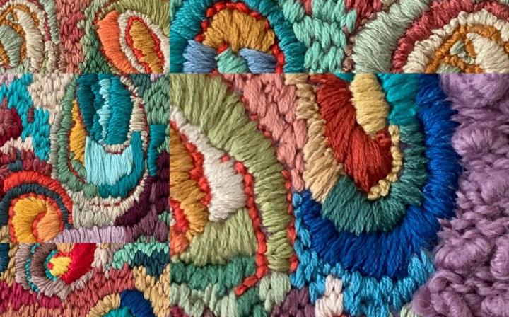 Blended Stitches detail © Sabine Kaner