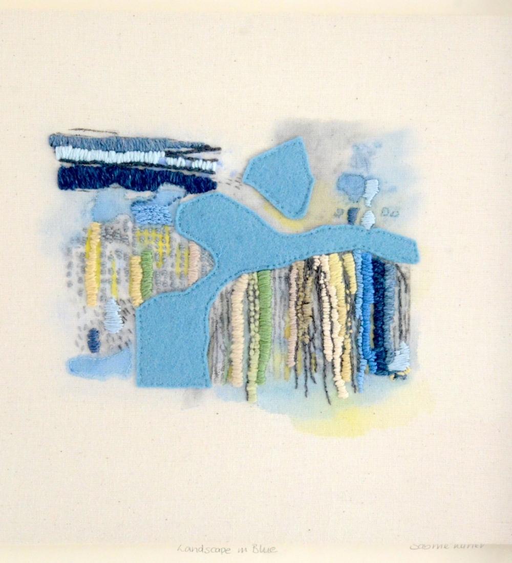 Landscape In Blue © Sabine Kaner