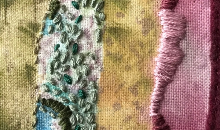 Seed Stitch detail © Sabine Kaner